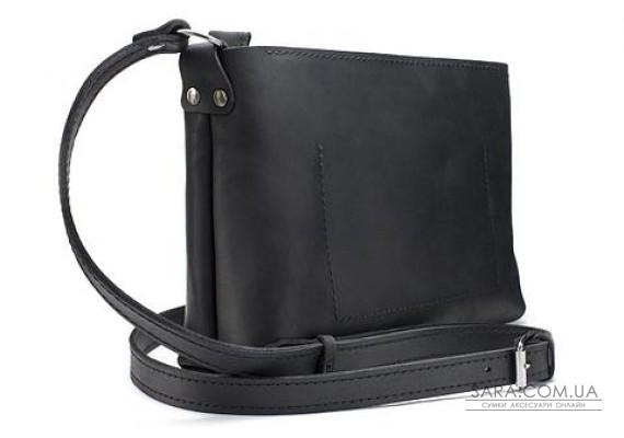 Женская сумка из натуральной кожи Bossy Черная