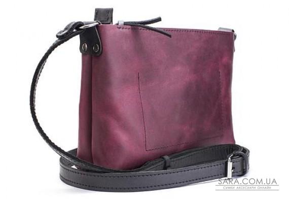 Женская сумка из натуральной кожи Bossy Марсала