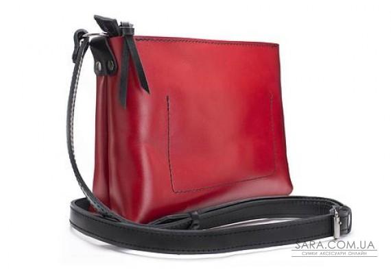 Женская сумка из натуральной кожи Bossy Красная