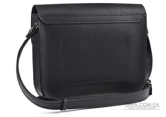 Женская сумка из натуральной кожи Handy Черная