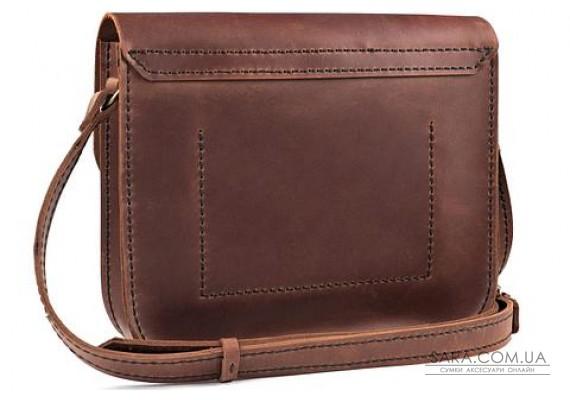 Женская сумка из натуральной кожи Handy Коньяк