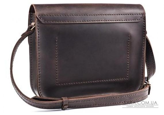 Женская сумка из натуральной кожи Handy Шоколад