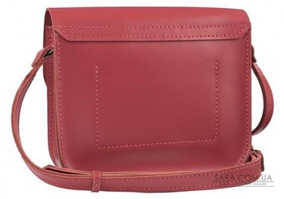 Женская сумка из натуральной кожи Handy Красная