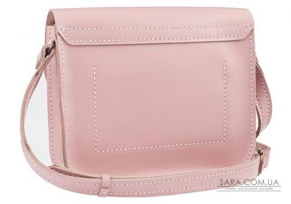 Женская сумка из натуральной кожи Handy Розовая