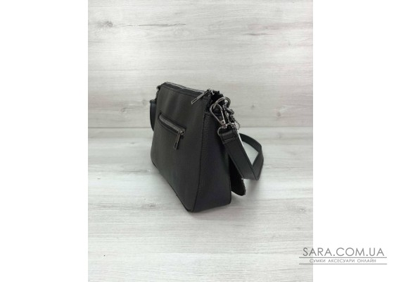 Стильная сумка-клатч  Tina со вставкой блеск WeLassie