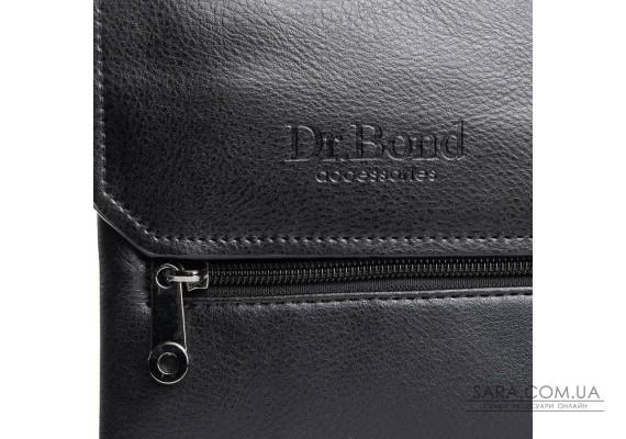 Сумка Чоловіча Планшет шкірзамінник DR. BOND GL 213-0 black