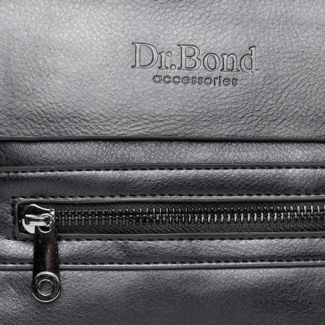 Сумка Чоловіча Планшет шкірзамінник DR. BOND GL 315-1 black дешево.