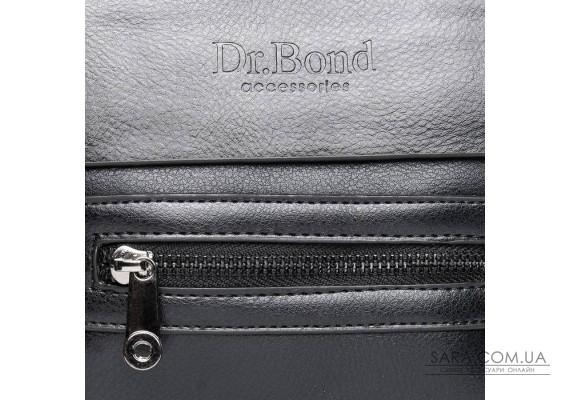 Сумка Чоловіча Планшет шкірзамінник DR. BOND GL 315-0 black