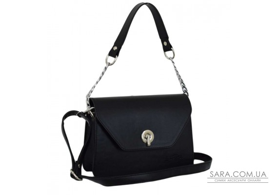635 сумка чорна г Lucherino