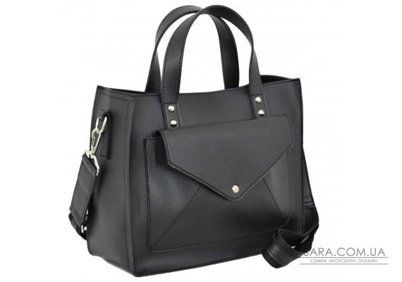 630 сумка чорна Lucherino