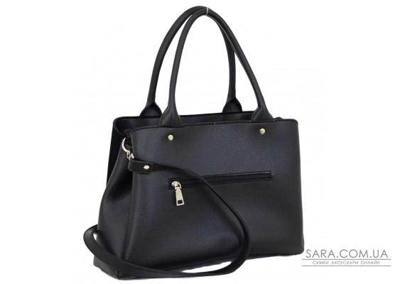627 сумка замш черная Lucherino