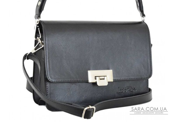 636 сумка чорна м Lucherino