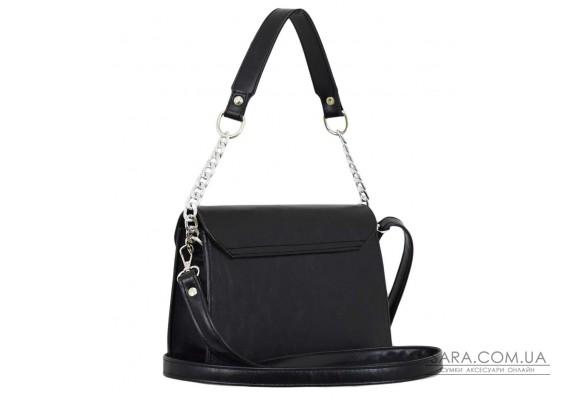 635 сумка чорна м Lucherino