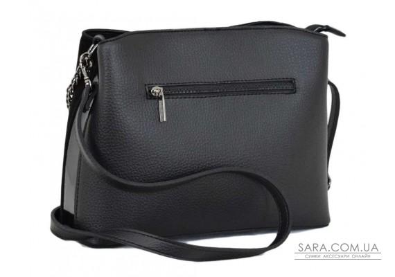 628 сумка замша черная Lucherino