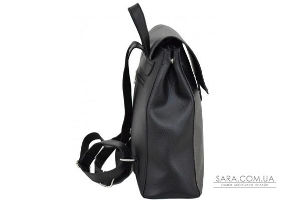 608 рюкзак чорний срібло Lucherino