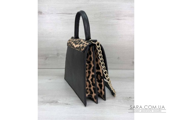 Жіноча сумка Лусія леопардового кольору WeLassie