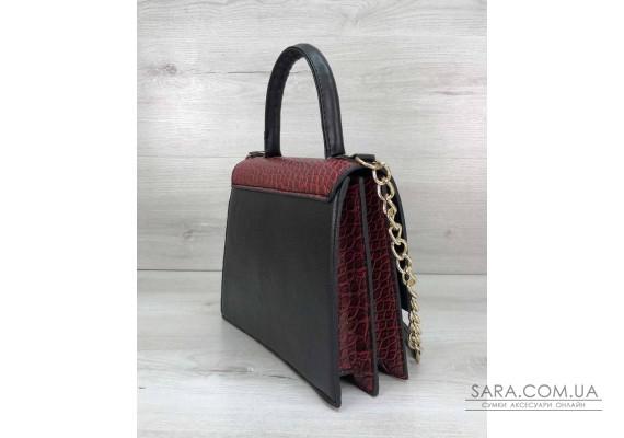 Жіноча сумка Лусія червоного кольору WeLassie