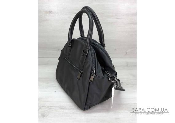 Тканинна сумка Elis чорна WeLassie