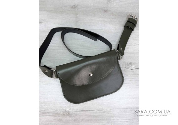 Женская сумка Kim оливка WeLassie