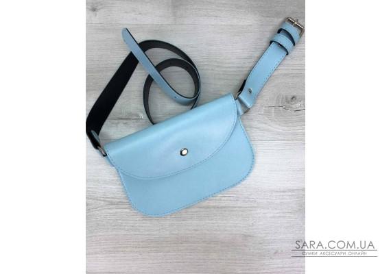 Женская сумка Kim голубая WeLassie
