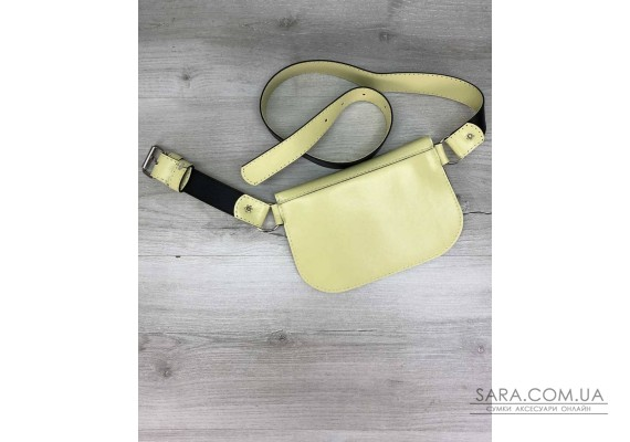 Женская сумка Kim желтая WeLassie