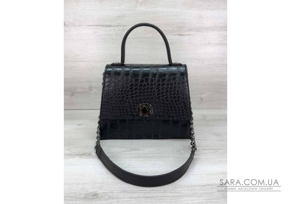 Жіноча сумка Lana чорна WeLassie