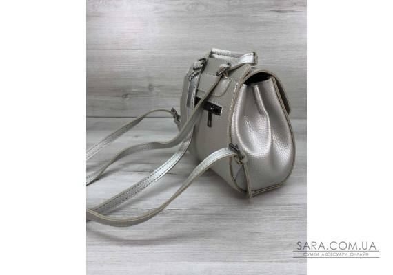 Сумка-рюкзак Chris срібло WeLassie