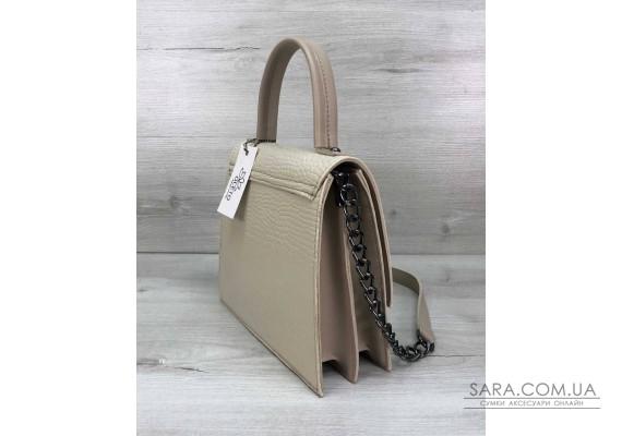 Жіноча сумка Lana молочна WeLassie