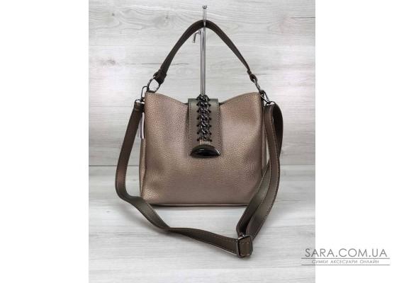 Женская сумка Сати золото WeLassie