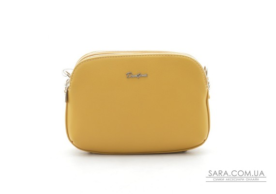 Клатч David Jones 6200-2T yellow