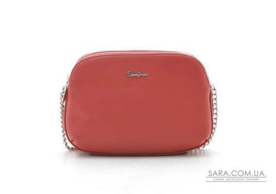 Клатч David Jones 6200-2T red