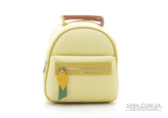 Рюкзак David Jones CM5624T feint yellow