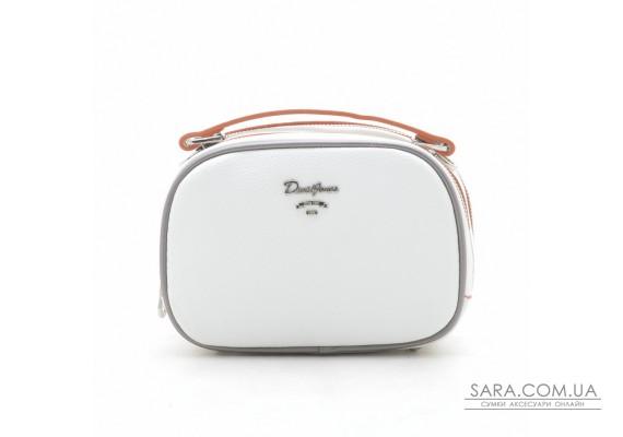 Клатч David Jones 5952-1T white/orange