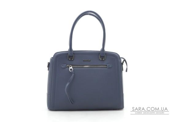 Жіноча сумка David Jones 6111-3T d. blue