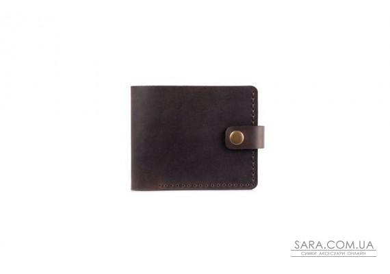 Шкіряний чоловічий гаманець Compact шоколад Art Pelle