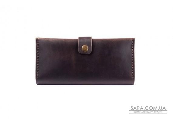 Шкіряний гаманець Biggy шоколад Art Pelle