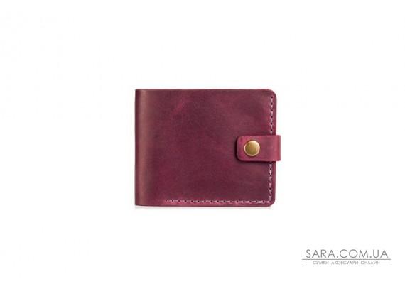 Шкіряний жіночий гаманець Compact марсала Art Pelle