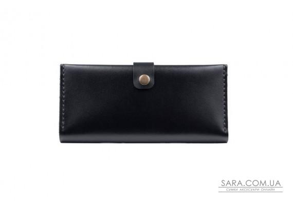 Шкіряний гаманець Biggy чорний Art Pelle