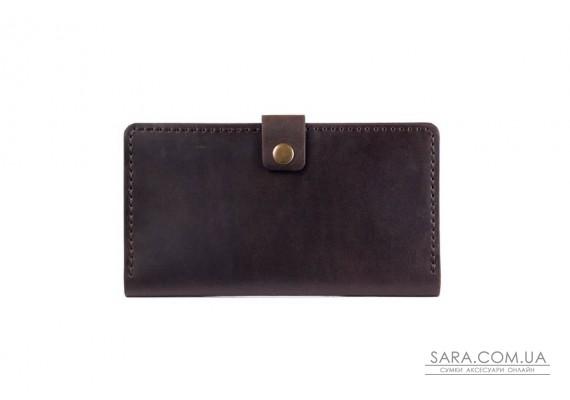 Шкіряний чоловічий гаманець Macho шоколад Art Pelle