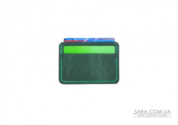 Картхолдер Mini зеленый Art Pelle