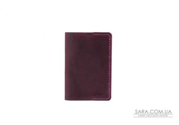Обкладинка для паспорта марсала Art Pelle
