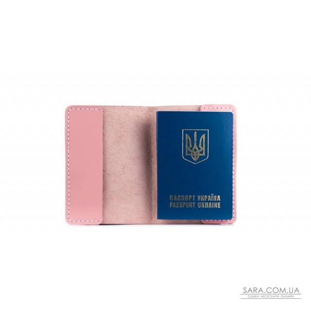 Обкладинка для паспорта рожева Art Pelle