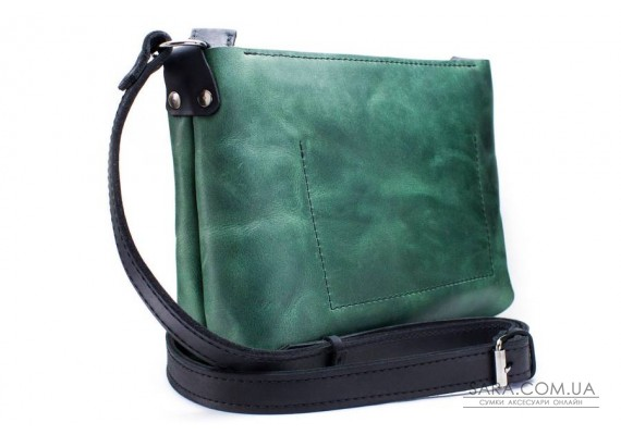 Жіноча сумка Bossy зелена Art Pelle