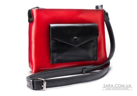 Жіноча сумка Bossy червона Art Pelle
