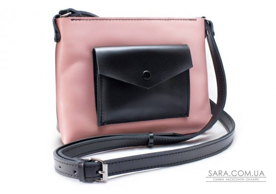 Жіноча сумка Bossy рожева Art Pelle
