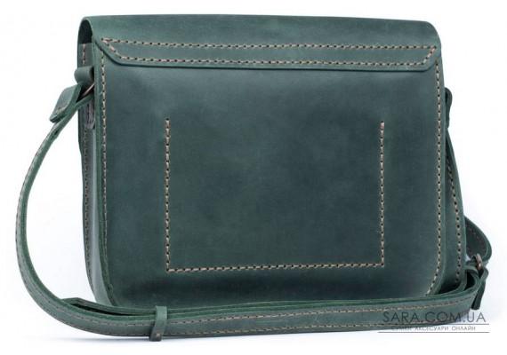 Жіноча сумка Handy зелена Art Pelle