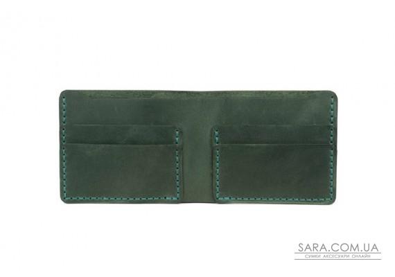 Шкіряний чоловічий гаманець Mini Art Pelle