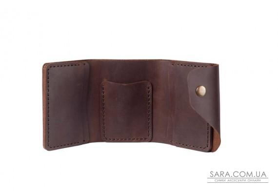 Шкіряний жіночий гаманець Triple шоколад Art Pelle