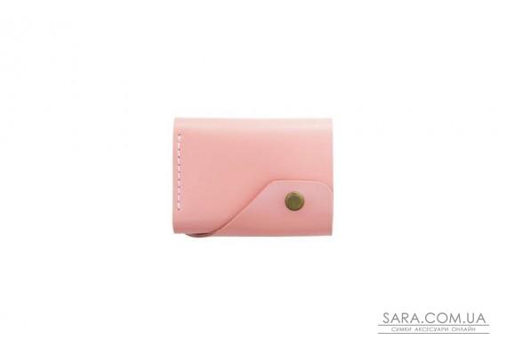 Шкіряний жіночий гаманець Triple рожевий Art Pelle
