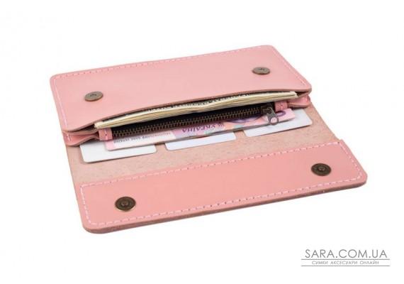 Гаманець - клатч Clutch рожевий Art Pelle